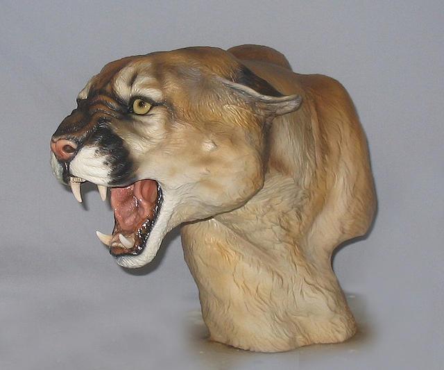Moutain Lion Sculpture