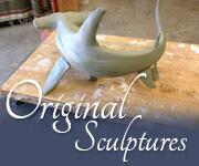 Original Sculptures by Caroline Boydston