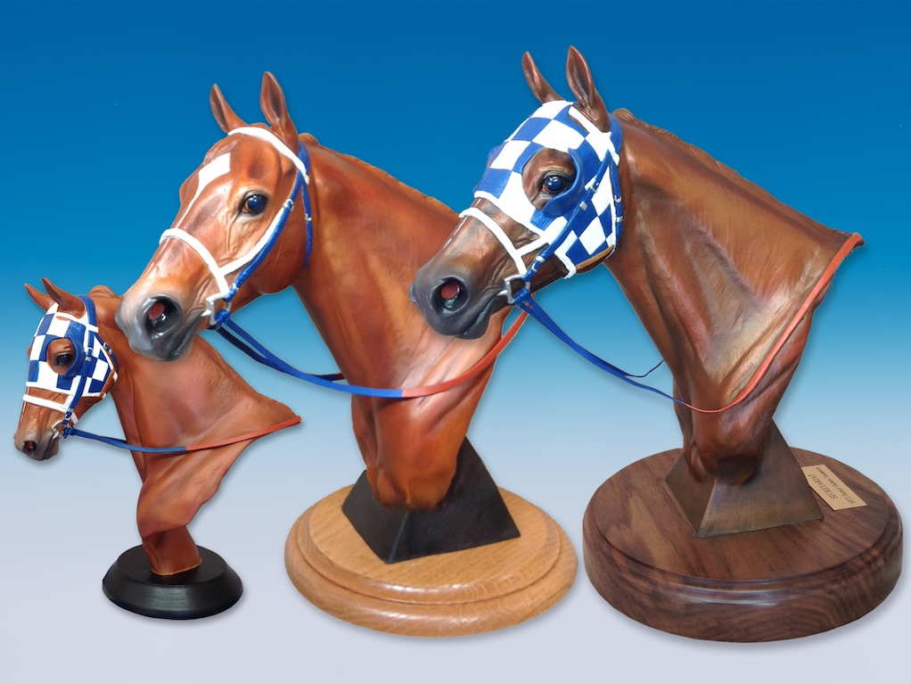 Resin and bronze busts - available through Secretariat.com